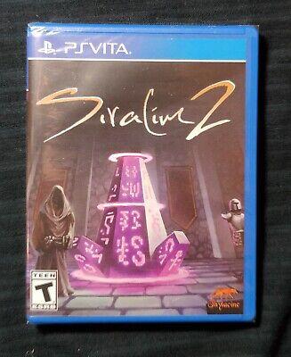 SIRALIM 2 PS VITA Playstation run games limited super Rare RPG