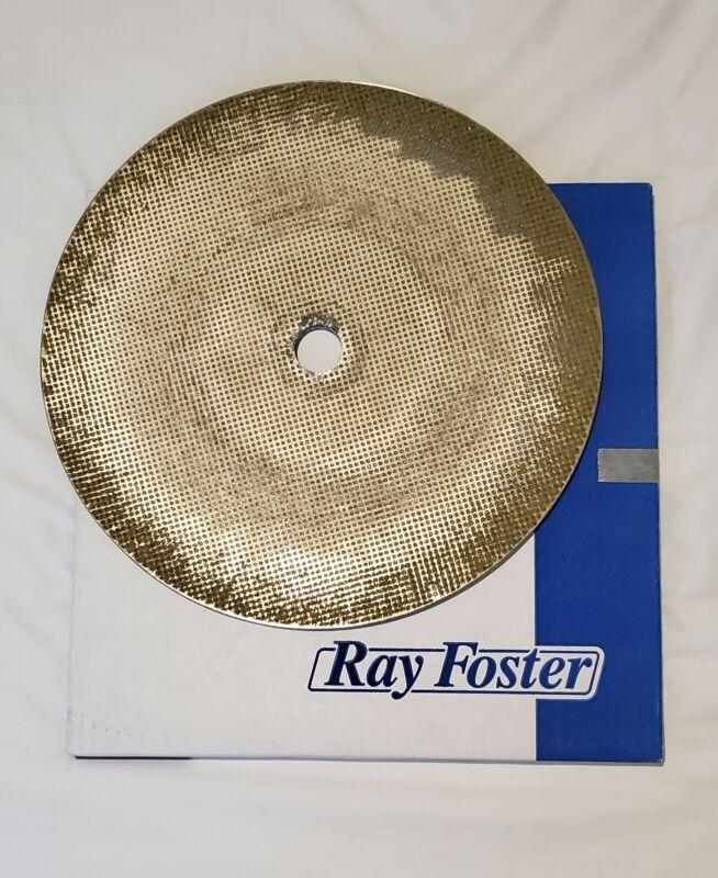 "Ray Foster Diamond Model Trimmer Wheel Size 12"" Medium Coarse Grit Item# D912"