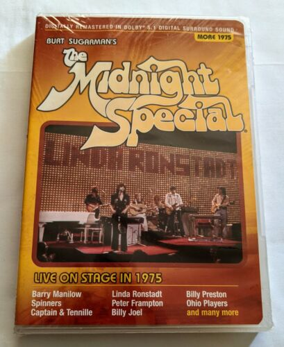 THE MIDNIGHT SPECIAL Live On Stage 1975  ~ Billy Joel, Linda