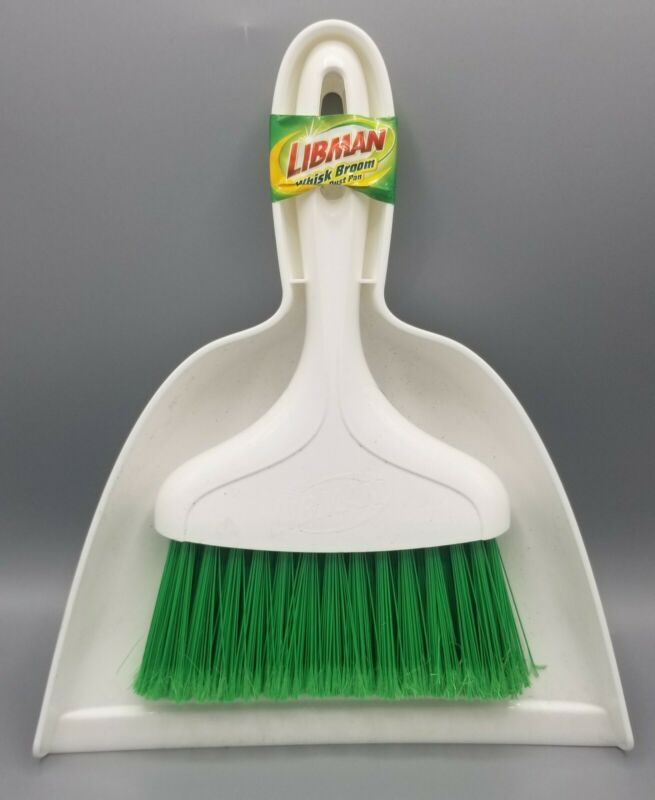 Libman 01031 Dust Pan With Whisk Broom,No 1031,  Libman