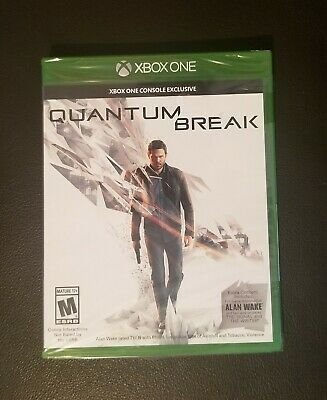 BRAND NEW Quantum Break (Microsoft Xbox One, 2016) Factory Sealed Free Shipping, usado comprar usado  Enviando para Brazil