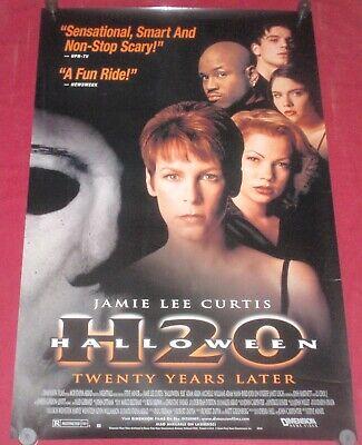 Halloween H20 Movie Poster 26 x 40 S/S Jamie Lee Curtis  Adam Arkin  Janet - Janet Leigh Halloween