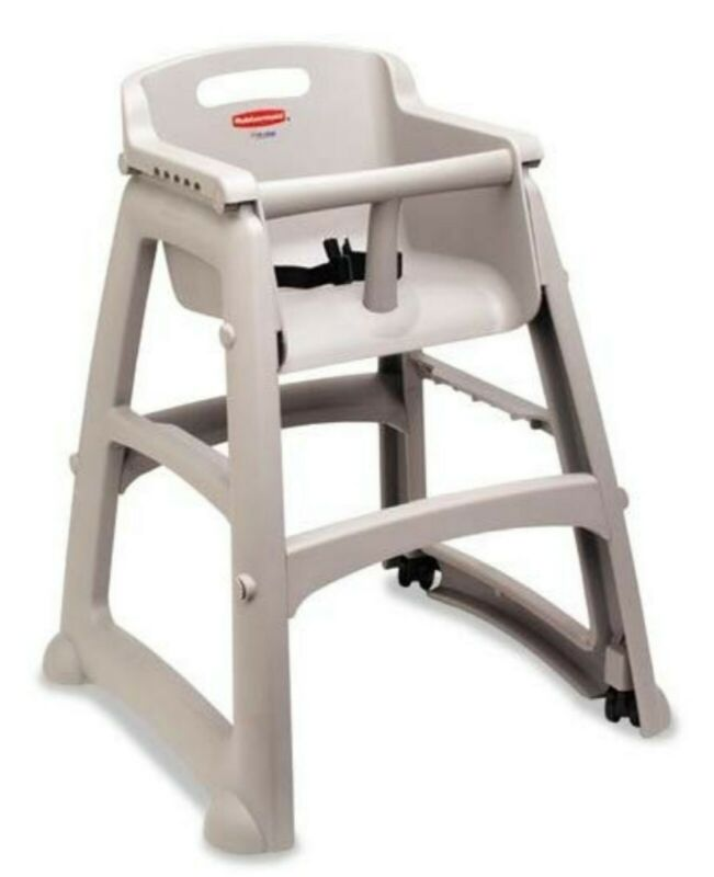 Rubbermaid 7805/7806 Sturdy Chair Youth Seat with Wheels