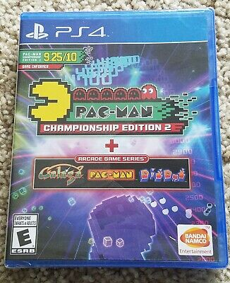 Pac-Man Championship Edition 2 + Arcade Game Series PS4 [Brand New]