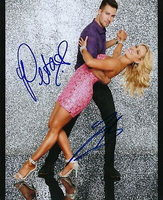 James Maslow Peta Murgatroyd Dancing With Star Signed Autograph Photo Signature
