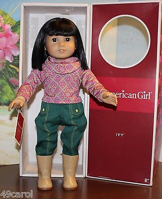 American Girl IVY With Box Retired