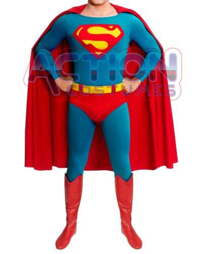Superman Costume Silver Edition