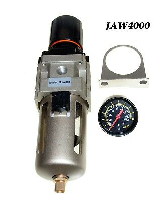 12 Npt Compressed Air Filter Pressure Regulator Combo  For Air Compressor