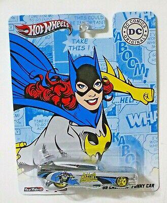 HOT WHEELS DC COMICS ORIGINALS 59 CADILLAC FUNNY CAR BATGIRL
