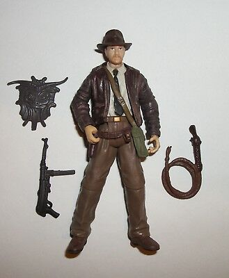 2008 Indiana Jones 3 3/4 w/ Machine Gun Last Crusade Action Figure by Hasbro