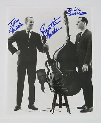 Tom Dick Smothers THE SMOTHERS BROTHERS Signed Autograph 8x10 Photo JSA COA - $49.99