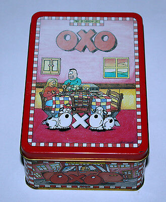 Vintage *OXO TIN* Empty NO Cubes! 1990 Retro Kitchen