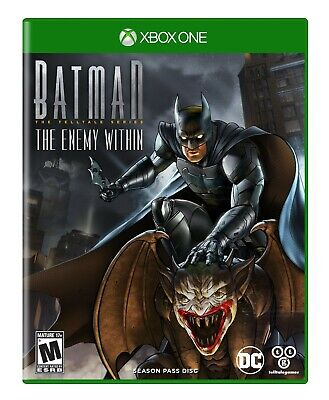 Batman: The Enemy Within, Season Pass Disc Xbox One *BRAND NEW, FACTORY SEALED*