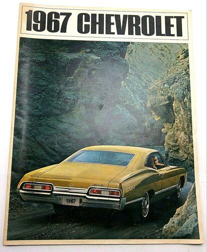 1967 Chevy Chevrolet Product Line Original Color Catalog Brochure Impala Caprice