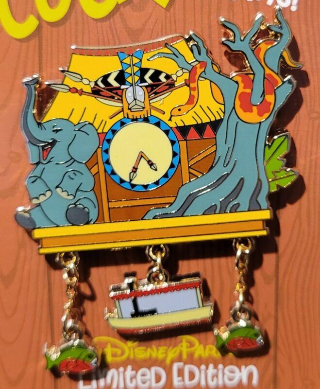Disneyland Disney Cuckoo for Disney Clock Jungle Cruise LE 3000 Pin