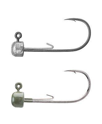 Owner Block Head Jig Head - Ned Rig Jig Head for Bass, Trout, & Walleye Fishing