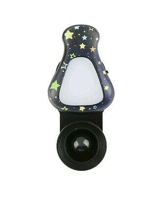 - Cell Phone Lens with Rechargeable LED Flash Light&Lens cap&Charging cable KLI