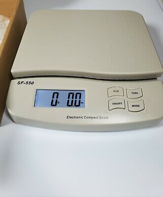 Smart Weigh 22lb X 0.5g Heavy Duty Digital Shipping Postal Scale With Tare