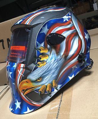Aew500 Auto Darkening Welding Helmet Mask 4 Sensorsdin 9 To 13