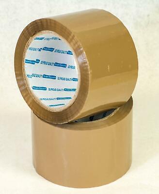 E-pack Carton Sealing Browntan Packing 2 Mil Shipping Box Tape 3 X 90 Yards