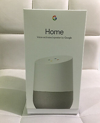 Google Home   White Slate  Google Personal Assistant  Brand New  Ships Worldwide