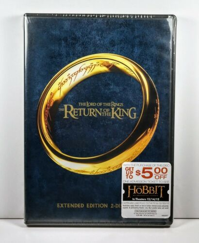 Lord of the Rings: Return of the King (2 Disc Extended Edition DVD - WS) ~~ NEW!