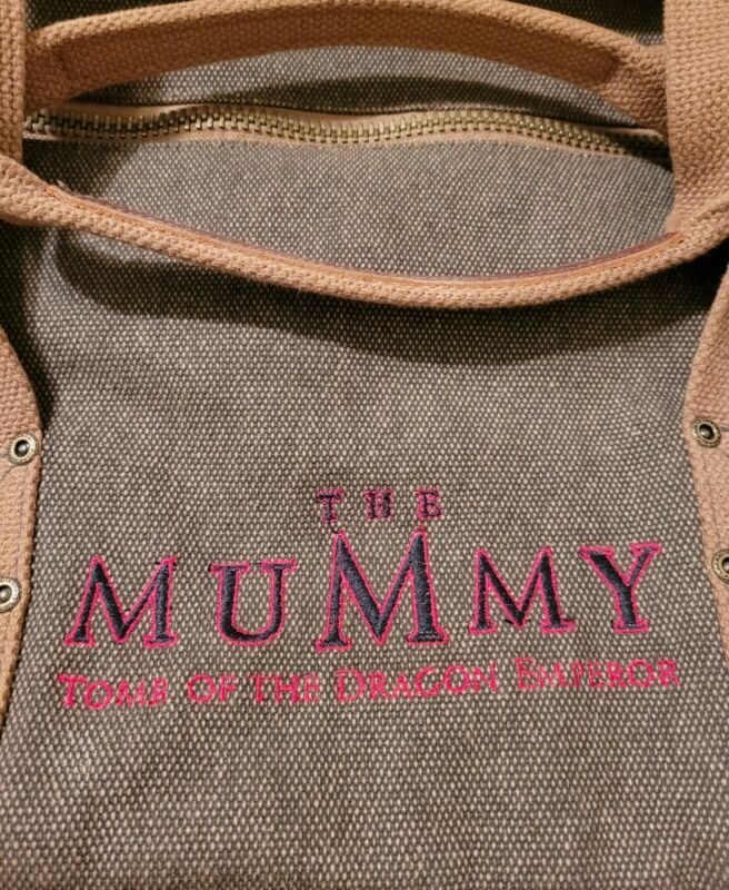 Canvas Duffle-The Mummy Tomb of the Emperor Dragon 2008 Movie Promotion