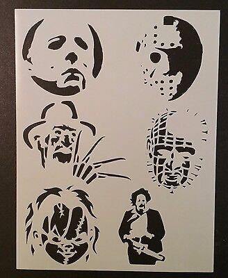Halloween Freddy Jason Chucky + 8.5