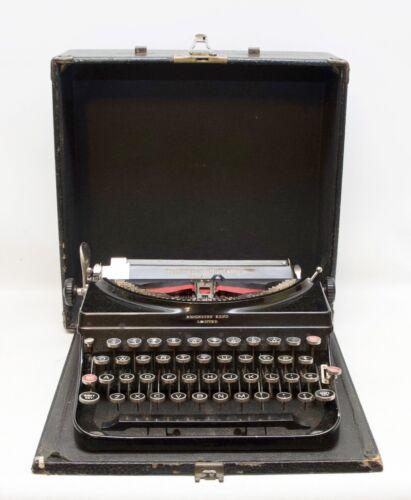 Antique Remington Portable Model 5 Typewriter 1930
