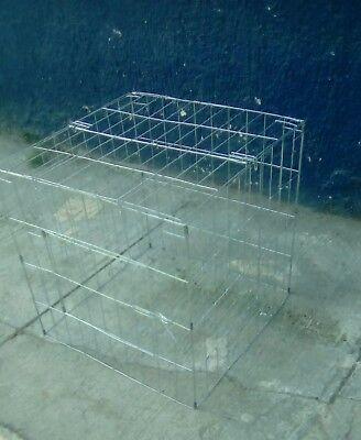 5 Jaula para gallos/rooster cage (rascaderos 60cm*60cm  )