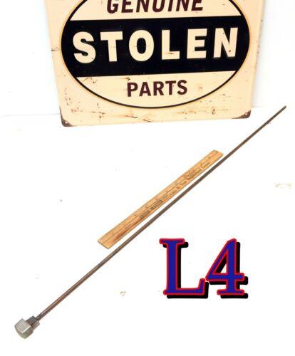 Original Vintage Cole Steel File Cabinet SQUARE HEAD ROD hardware salvage