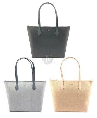 Kate Spade (WKRU6278) Joeley Glitter Large Tote Handbag Bag Purse (Kate Spade Women)