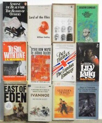 Lot of 12 POPULAR BEST SELLER NOVELS Free US Shipping Read List Lot (List Of Best Novels)