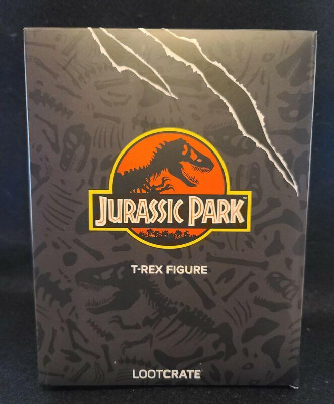 Loot Crate Exclusive Jurassic Park T-Rex Figure NIB