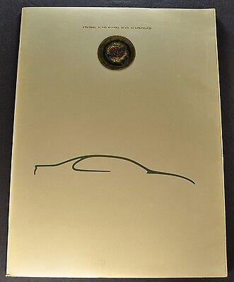 1996 Chrysler Cirrus Catalog Sales Brochure LX LXi Excellent Original 96