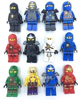 LEGO NINJAGO MINIFIGURES KAI ZANE JAY NINJAS GENUINE COLLECTIBLES TOYS YOU PICK!