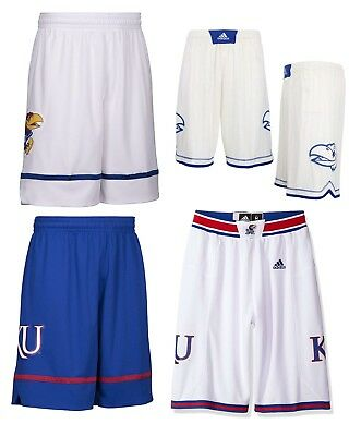 NEW Adidas Men's NCAA Kansas Jayhawks On Court Premier Basketball Shorts