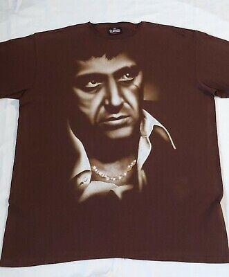 Vintage scarface t shirt Men Brown Size 3 Xl