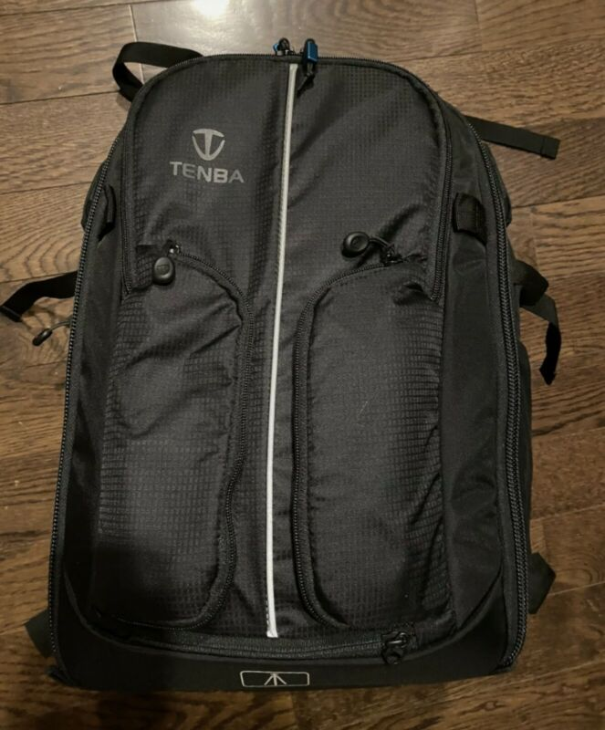 Tenba Shootout 24L Camera Backpack - DSLR & Mirrorles  Airflow back + Rain cover