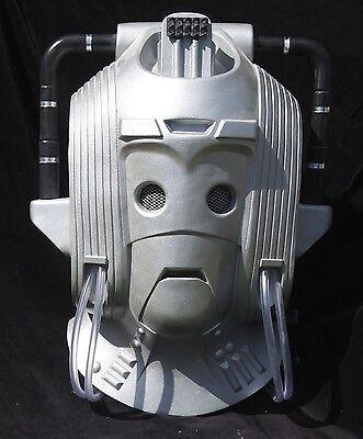 Dr Who Earthshock Cyberman Leader Helmet