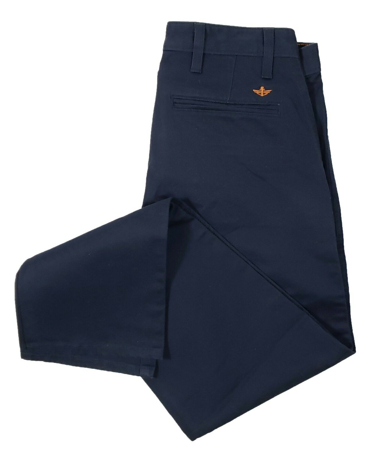 Dockers Men's Navy Alpha Slim Athletic Fit Chino Pants