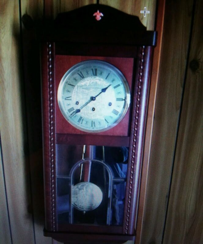 German Made 3 Chime Wind Up Wall Clock