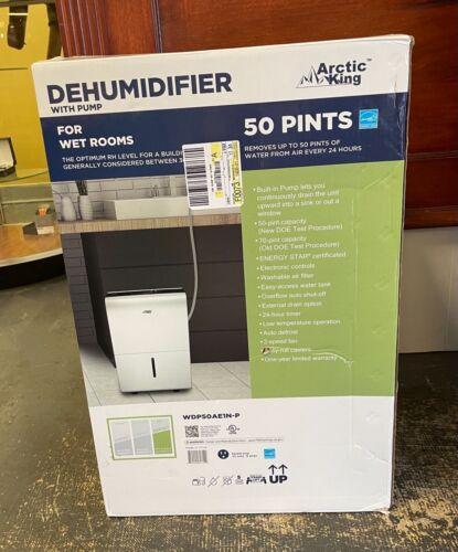 Arctic King WDP50AE1N-P 50 Pint Energy Star Dehumidifier