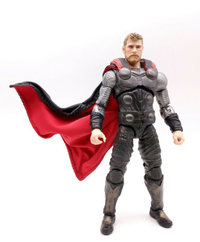 No Figure Red Cape for Hasbro Marvel Legends Avengers 3 Thor
