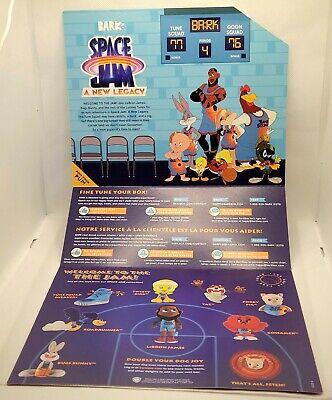 Space Jam A New Legacy Bark Box Display Insert Lebron James Bugs Bunny