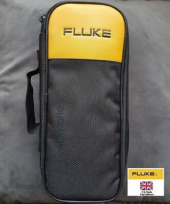 Fluke Soft Black Carrying Case For 302 303 773 374 375 376 381 Clamp Meter Case