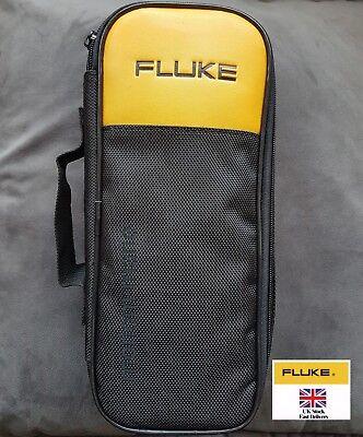 Fluke Soft Black Carrying Case For 302 303 773 374 375 376 381 Clamp Meter Case