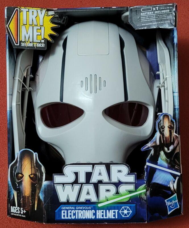 Star Wars General Grievous Electronic Helmet Mask New Unopened 2011