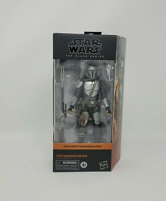 Star Wars Black Series Beskar Mandalorian Hasbro 6 inch Figure IN HAND