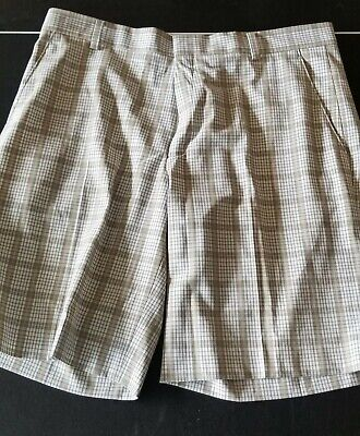 Nike Golf Tiger Woods Collection Shorts, Size 36, Plaid, EUC!!!